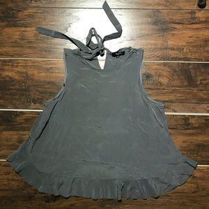 Madewell | Silk Bow Back Blouse